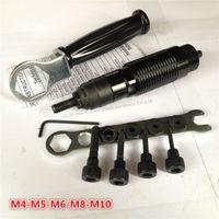 Cordless Drill Rivet Nut Tool M4 M10 Battery Riveter Nut Adaptor Cordless Drill Adapter Riveting Tool