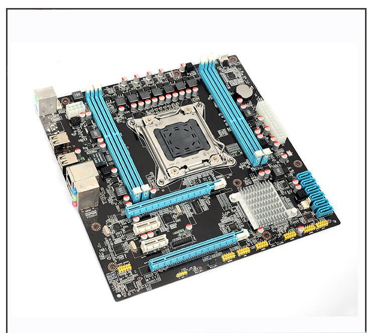 X79 motherboard micro-ATX X79 LGA 2011 motherboard HUANAN mainboard support REG ECC double channels 3 years warranty 43x5318 46c0580 8g 1333 ecc reg server memory one year warranty