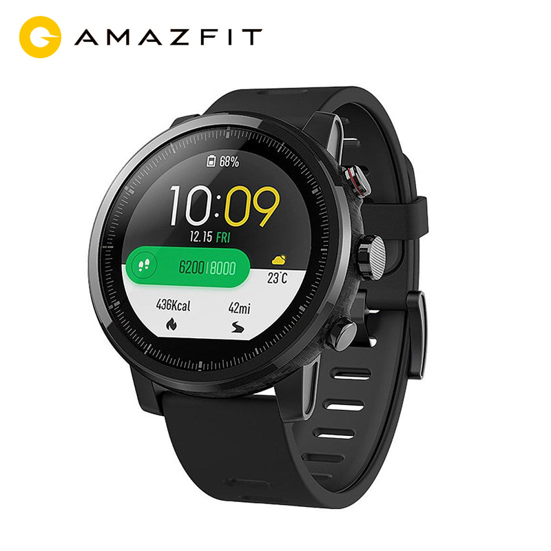 Version Xiaomi Amazfit Stratos Smart Sports Watch 2 GPS 5ATM Water 2 5D GPS