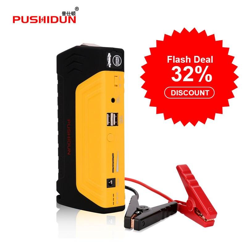 12000 mAh 12 V Starthilfe Dual usb Car Charger Batterie Booster Auto Starthilfe energienbank Portable Autobatterie