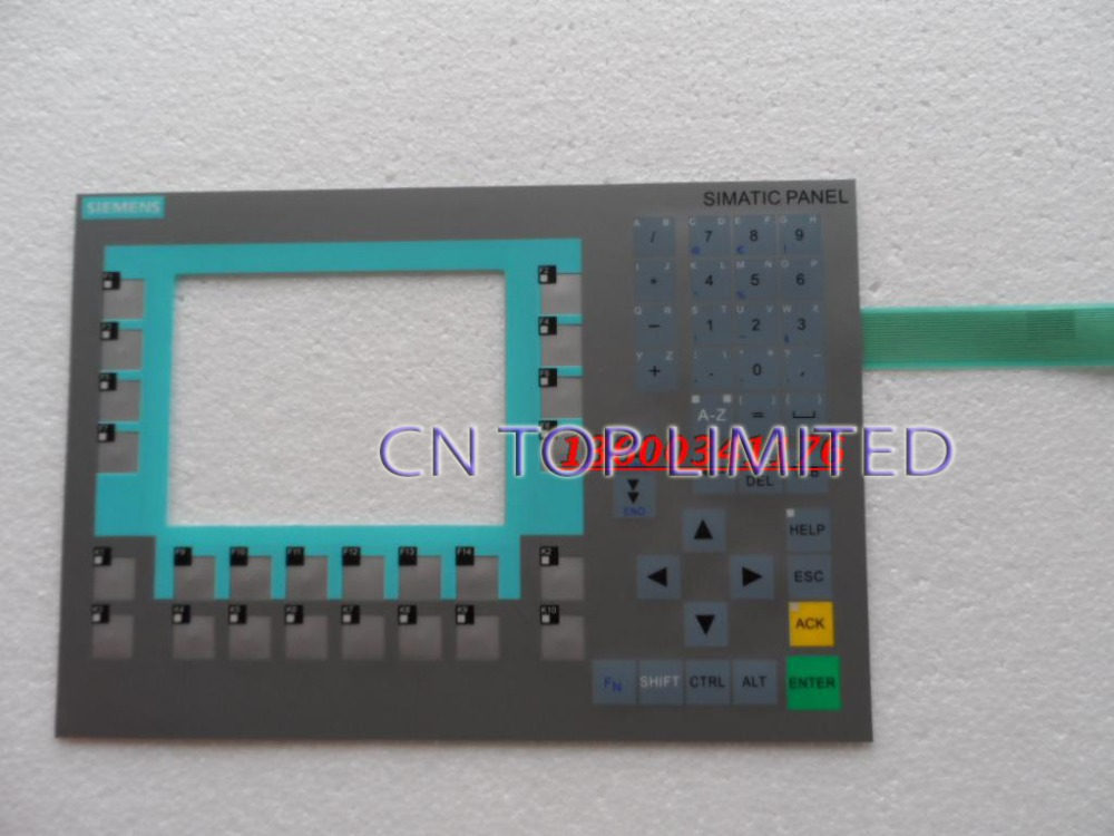 New  Membrane Keypad  operation panel Button mask for 6AV6643-0CB01-1AX1 new membrane keypad operation panel button mask for mp270 6av6542 0ac15 2ax0