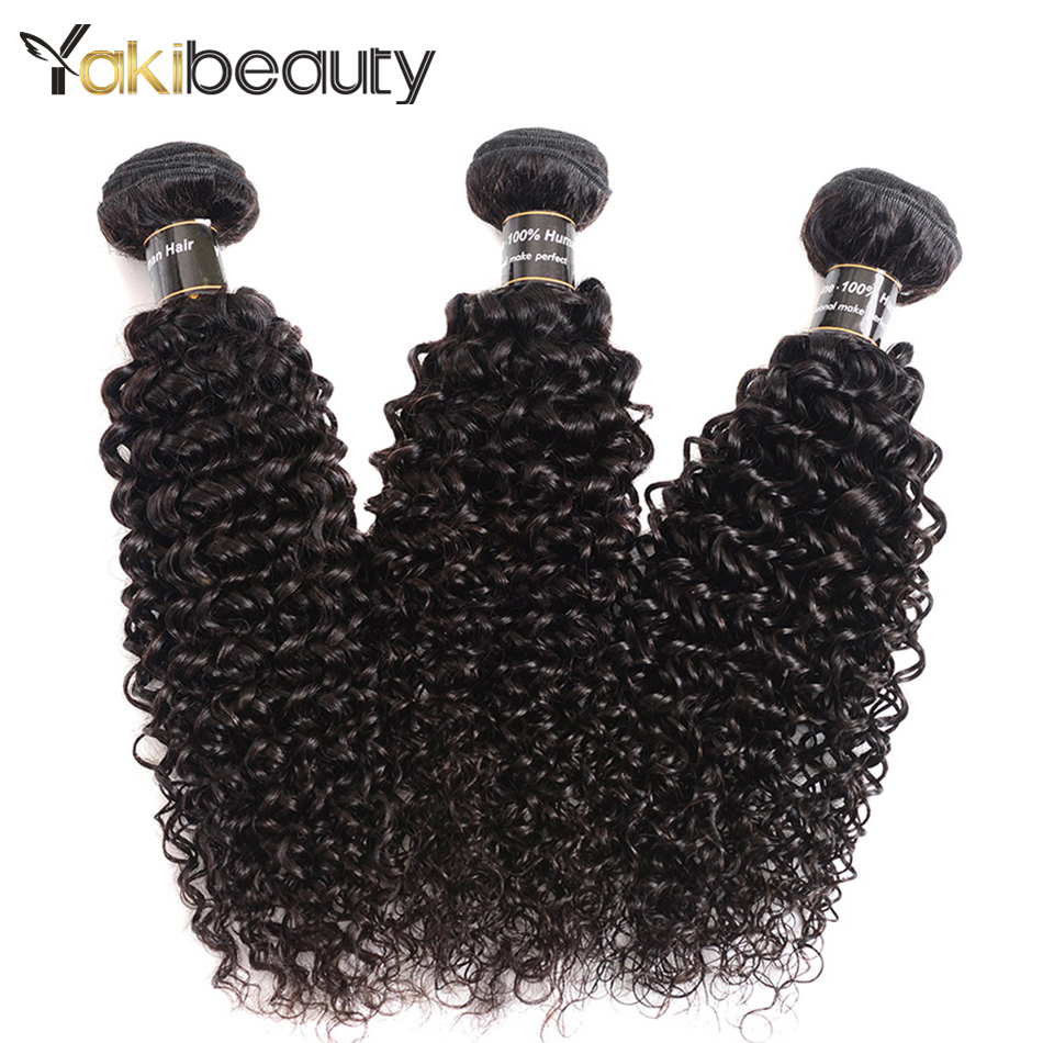 Indian Hair Afro Kinky Curly Hair 1/3/4 Bundles Human Hair Weave Extension Remy Hair Bundles 100G/pcs Can be dyed and Bleach