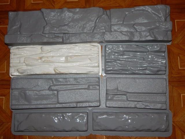 4 gemengde ontwerp plastic mallen mallen voor beton gips muur steen