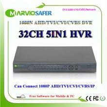 32ch 32 channel AHD TVI CVI DVR AVR XVR AHD-NH 1080N HD Video Recorder 1080P HDMI Output CCTV AHD TVI CVI Camera Recorder