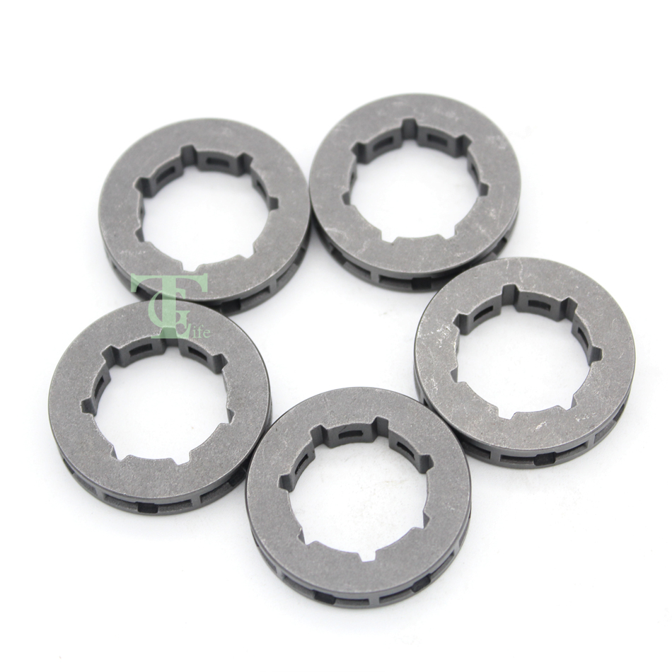 5Pcs .325 7T Sprocket Rim For HUSQVARNA 340 345 346XP 350 353 357 359 50 51 55 40 45 Chainsaw Small 7 Spline