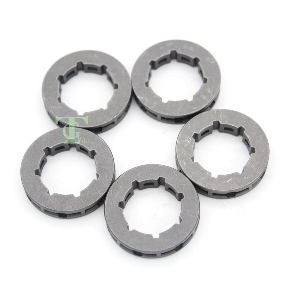 5Pcs .325 7T Sprocket Rim For HUSQVARNA 340 345 346XP 350 353 357 359 50 51 55 40 45 Chainsaw Small 7 Spline