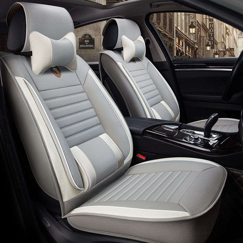 Universal leather car seat cover car seat covers for Mazda cx-5 cx-7 cx-9 Lifan 320 520i 520 620 720 X60 X50 solano breez smily