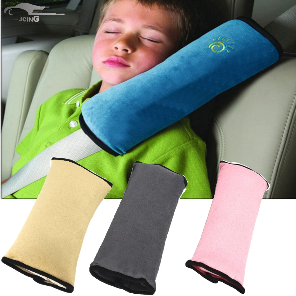 Universal Car Auto Safety Seat Belt Harness Shoulder Pad Cover Children Shoulder Safety Belts Protection Cushion Support Pillow цена