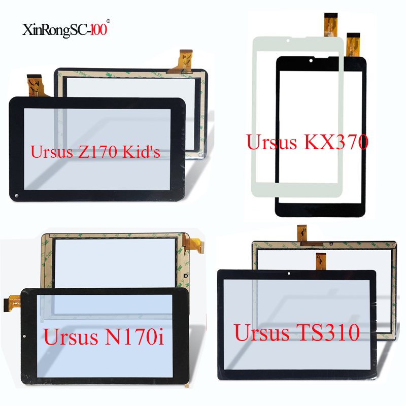 For DEXP Ursus Z170 Kid's/KX370/N170i/TS310/TS210/A210i/KX170 3G/P310 4G/S170/S170i Kids touch screen panel digitizer Glass lpply touch screen dexp ursus 7m 7mv 3g ns170 ns270 ns370 g170 a270 jet a170 hit a169 a269 a370 a470 touch screen