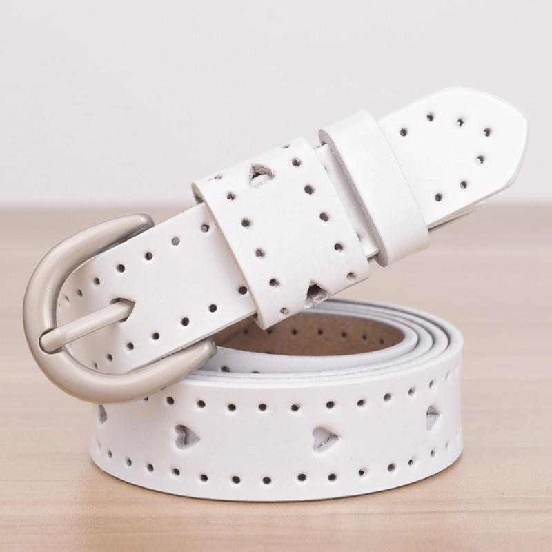 Дизайн, женские ремни, Модный повседневный кожаный ремень, классический ремень для женщин, модный ретро ремень с тиснением - Цвет: Белый