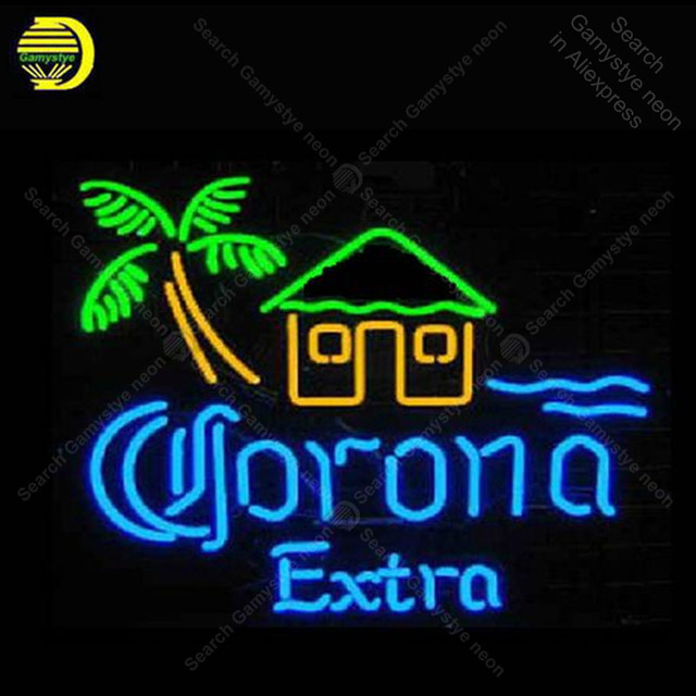 Neon sign For Popular Corona Extra House Neon Bulb sign Business display Iconic Handcraft Lamp advertise Letrero enseigne lumine