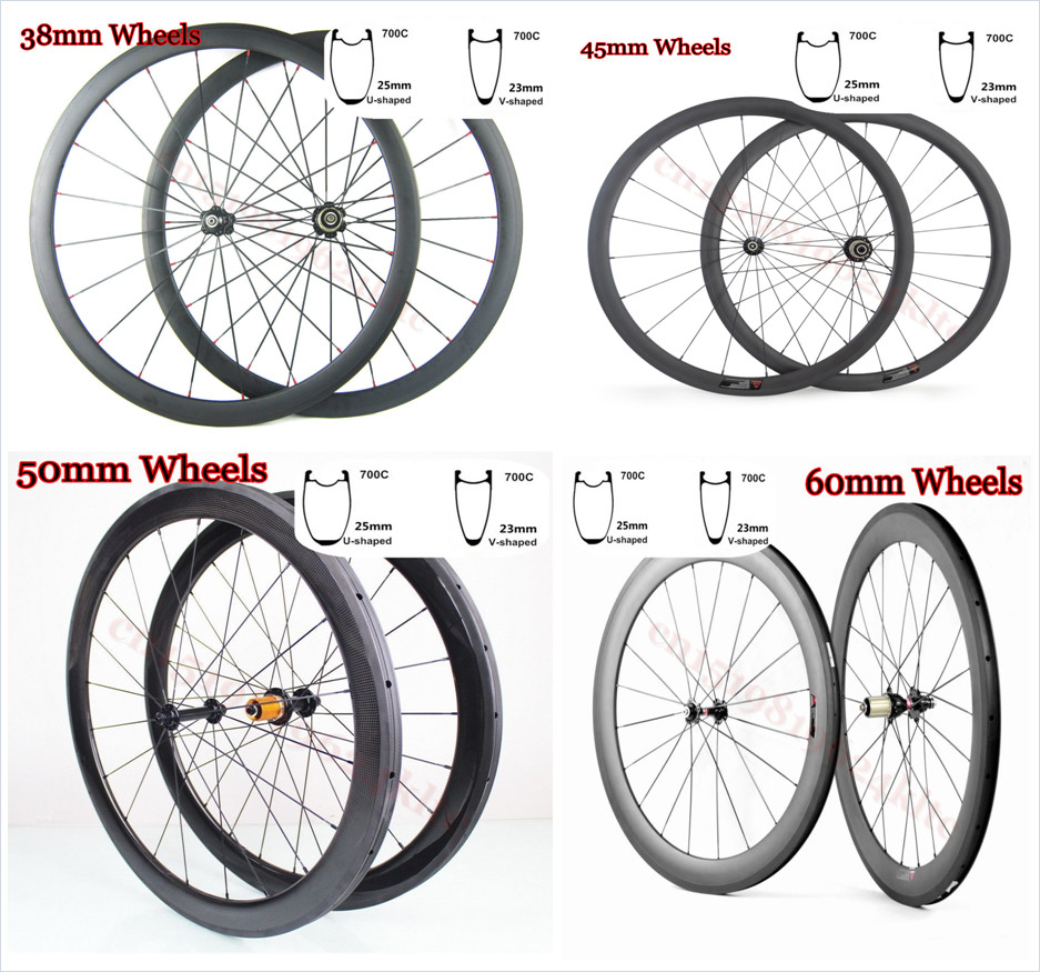 DT 240S R36 hubs U shape carbon wheels 38mm 45mm 50mm 60mm carbon bicycle wheels road bike compatible clincher carbon wheelset mountain bike four perlin disc hubs 32 holes high quality lightweight flexible rotation bicycle hubs bzh002