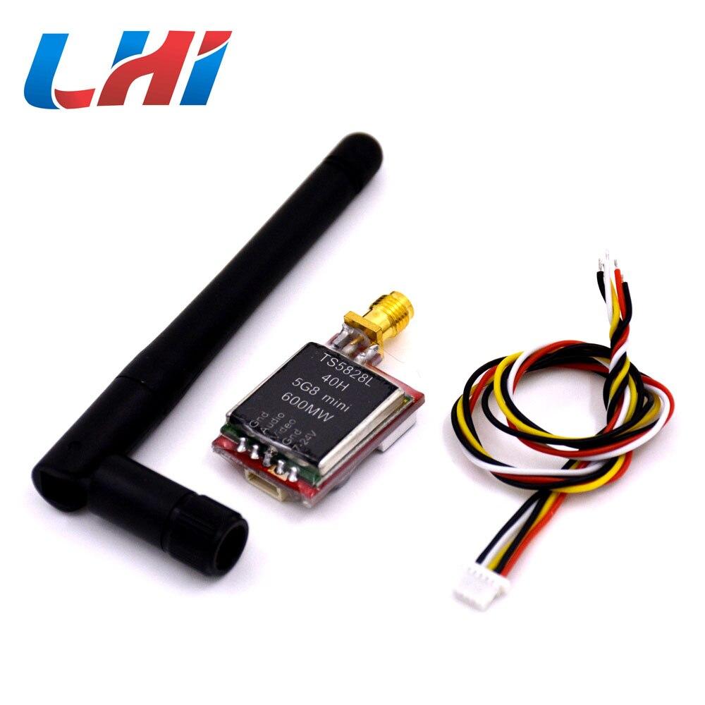 FPV TS5828L 5 8G 600mW 40 Channel Mini Wireless AV Transmitter Module Board