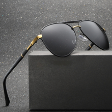 High Quality Men's Sunglasses Vintage Coating Mirror Aviator Polarized Sun glasses Brand Driving Shades Men Oculos De Sol Z1103