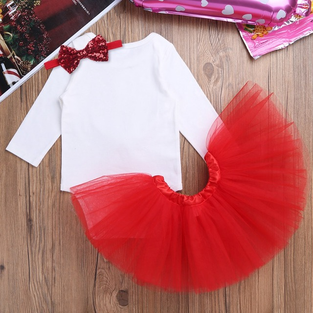 3Pcs NewBorn Baby Clothes Autumn/Winter Summer Cotton Baby Rompers Kids Infantil Baby Girls Clothing Sets for Christmas Costumes