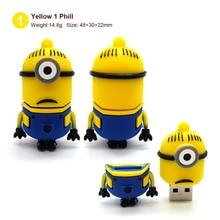 Minions 2.0 Family USB Flash Drive 4GB 8GB 16GB 32GB 64GB