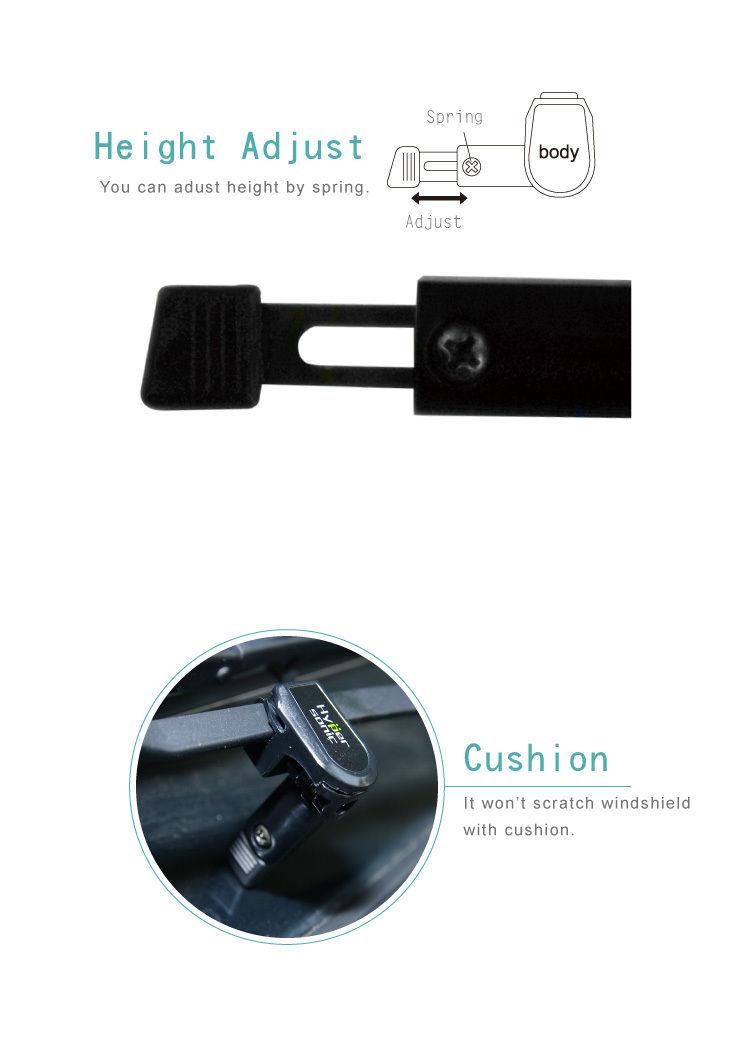 carro pára-brisa limpador suporte forleft mão uso