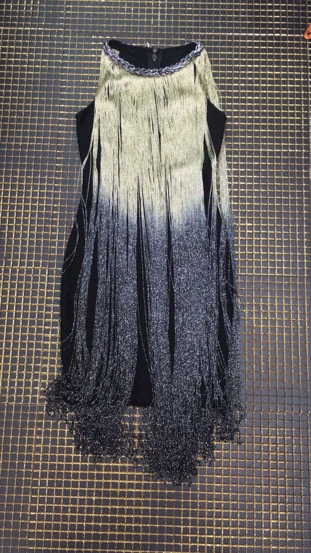 Gros Gland Sans Nouveau Con Sexy En Club Night Corps Robe Bandage Offre Femmes Style Mode O Celebrity Robes Manches Noir cou Spéciale 44wRCFx
