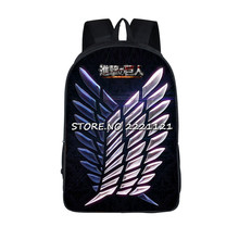 Attack On Titan Backpacks For Teenagers (25 styles)