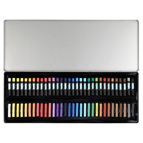 conda 64 pcs set crayon giz pastel de oleo pintura lapis criancas desenho criancas ferramenta