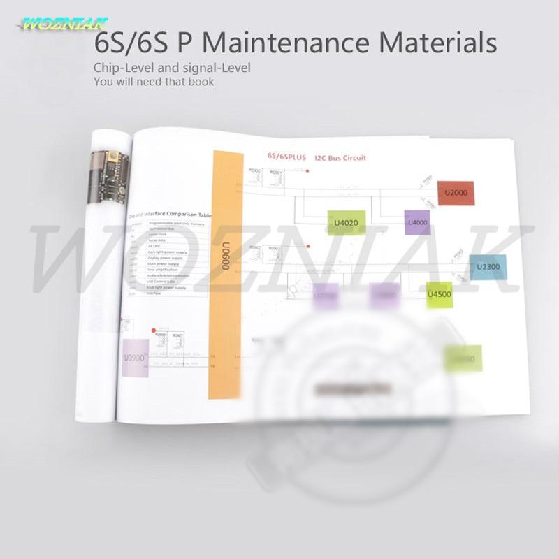 Wozniak Color-leerboeken voor iphone 6S Plus 6SP - Gereedschapssets - Foto 3
