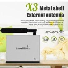 5Pcs X3 Smart Android 6.0 TV Box Amlogic S905X 2G+16G UHD 4K Media Player VP9 HDMI Mini PC Support Dual WiFi Bluetooth 4.0