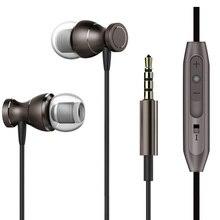 Металлические наушники для прослушивания музыки с усиленными басами наушник для samsung Galaxy S9 плюс S8 S7 край S6 активный S5 S4 мини S3 S2 S Чехол для наушников с микрофоном