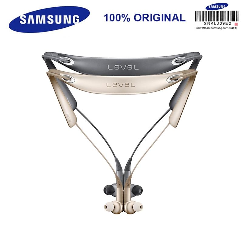 SAMSUNG Level U P In-Ear Earphone Wireless Bluetooth Collar Noise Cancelling Support A2DP,HSP,HFP for Iphone X Iphone 8/8Plus 2 in 1 wireless bluetooth earphone