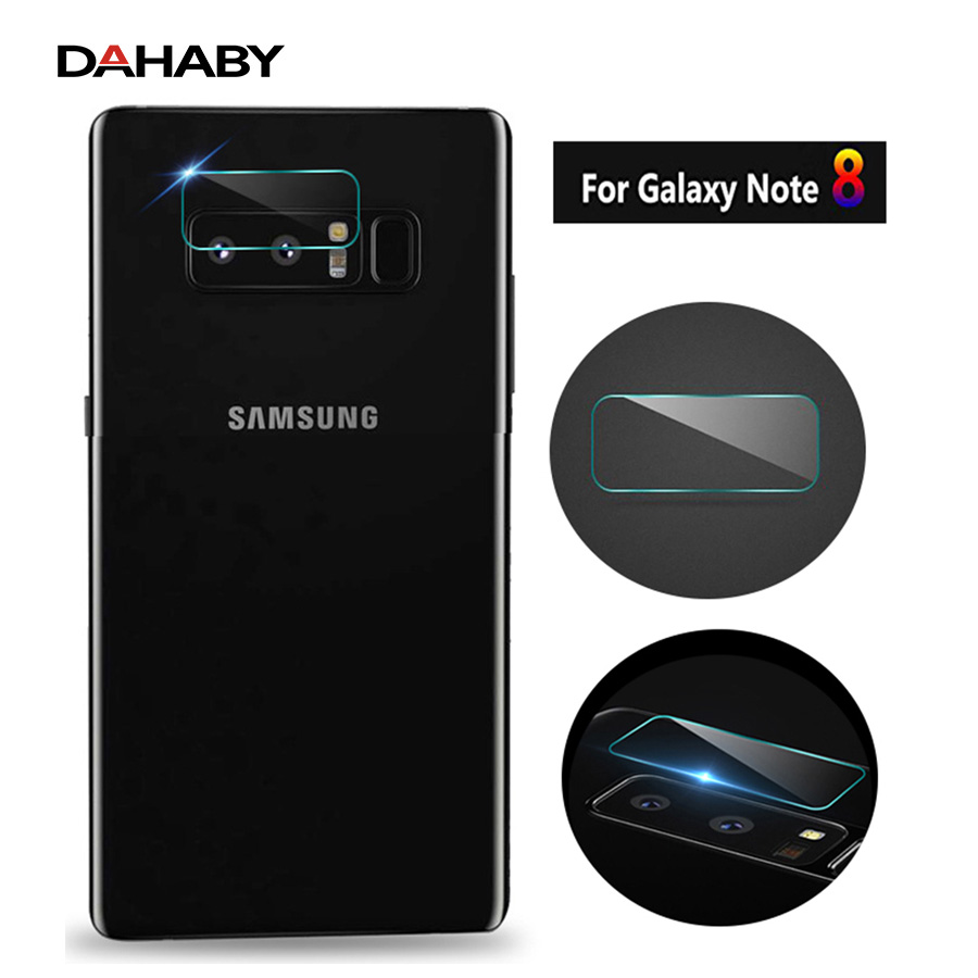 DAHABY 100pcs/lot For Samsung Galaxy Note 8 Flexible Back Rear Camera Lens Tempered Glass Screen Protector For Galaxy Note 8