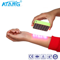 ATANG Pain Relief Cold Laser Therapy Device Unit LLLT Red Light Portable Handheld Unit 650nm+808nm