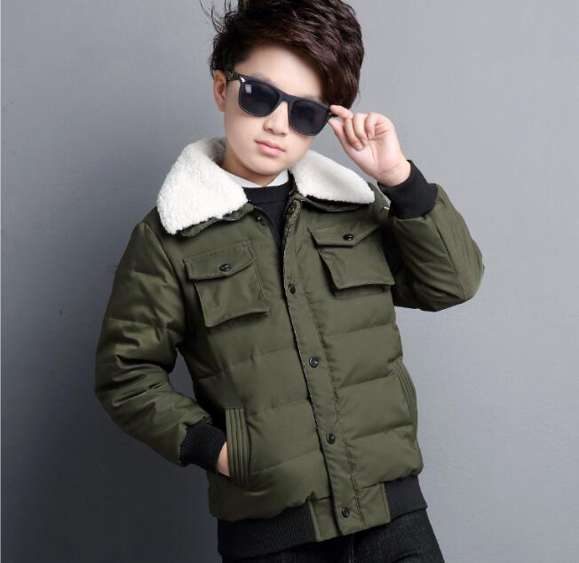 Boy Winter Coat Jacket Children Winter Jackets For Boys Casual Hooded Warm Coat Baby Clothing Outwear Fashion Boys Parka Jacket men warm coat fashion winter jacket men casual fleece outwear slim solid coat light weight parka hombre jaqueta plus size 3xl