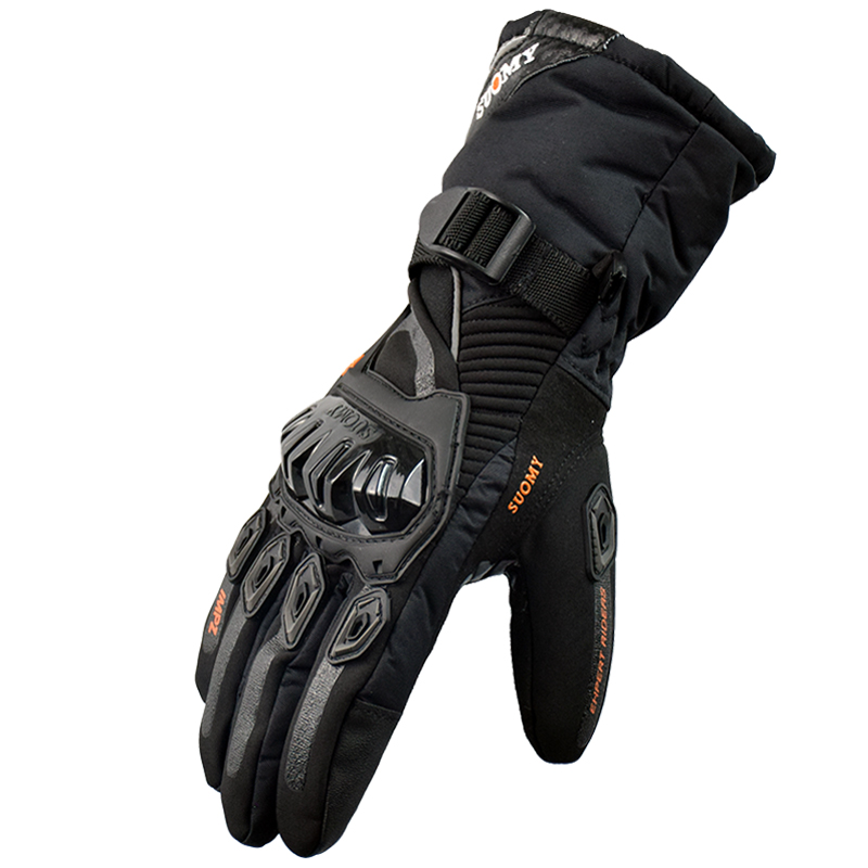 Suomy Winter Motorcycle Gloves Moto Warm Waterproof Protective Motorcycle Riders Gloves s s Guantes Moto Luvas M L XL XXL warm winter cycling protective mask men s and women s whol