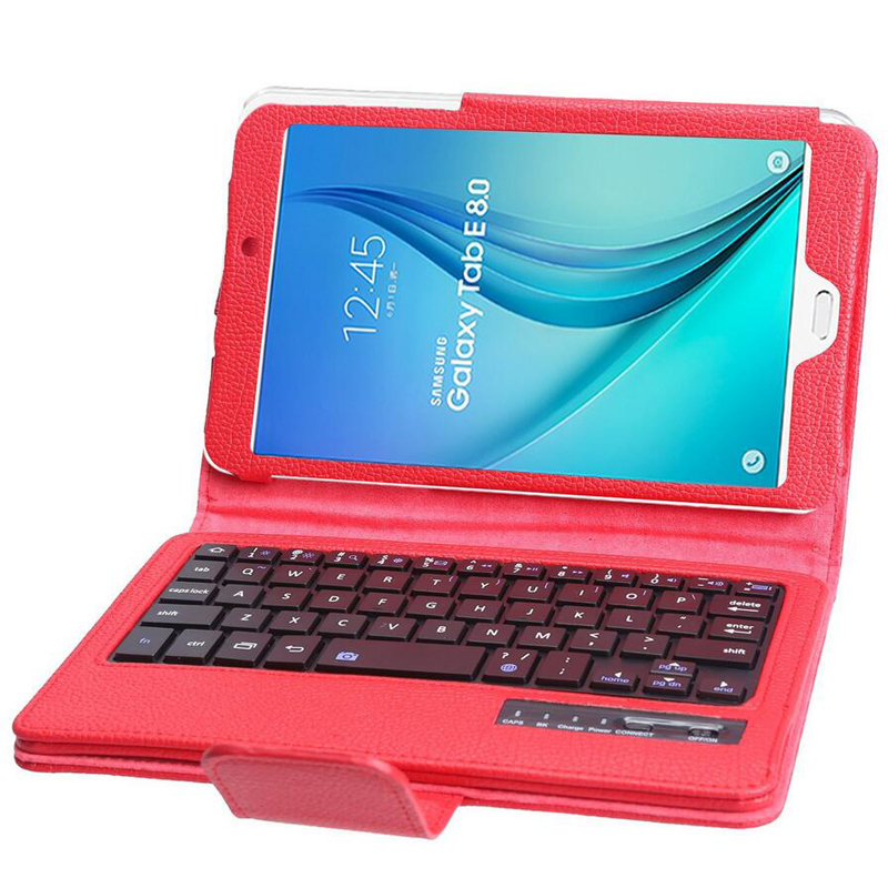2 in 1 Removable Wireless Bluetooth Keyboard Case For Samsung GALAXY Tab E 8.0 T377 T377V Tablet PC Keyboard Case