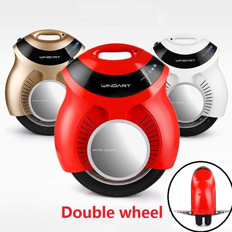 Горячая двойной колесо, электрическое моноколесо одно колесо скейтборд электрический одноколесном велосипеде ХОВЕРБОРДА bluetooth monowheel балан