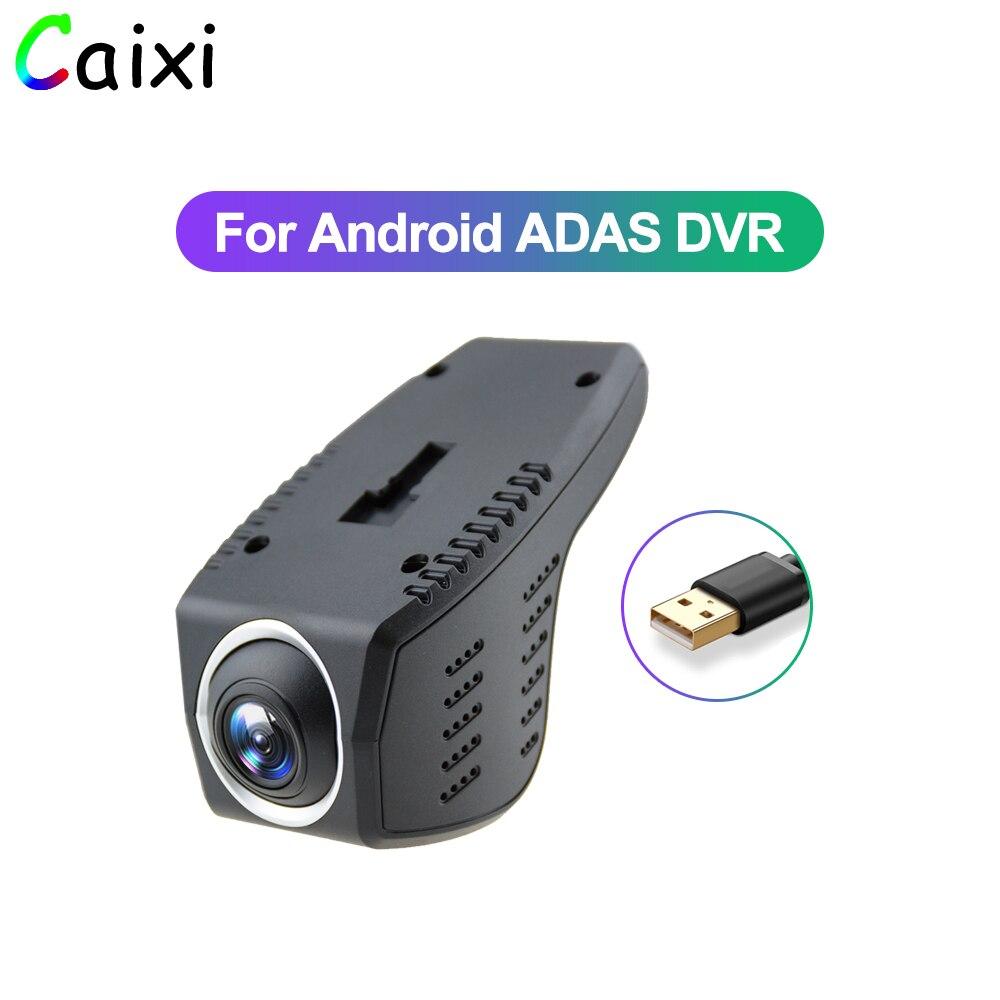 Car Electronics Accessories Car DVR Camera1080P FHD Lens ADAS Built-in G-sensor Video Recorder Car Dash Camera For Car Android