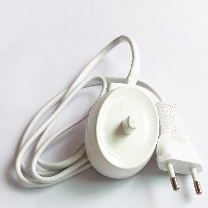 Galleria fotografica UE Plug Replacment Électrique Brosse À Dents Chargeur Pour Braun Oral-b D12 S12 S18 D16 D17 D18 D19 D20 D29 D34 OC18 OC20 Modèle 3757