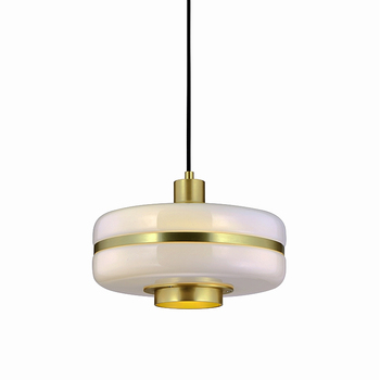 Скандинавский стеклянный абажур, светодиодные подвесные светильники для столовой, спальни, подвесной светильник для офиса, кухни, дома