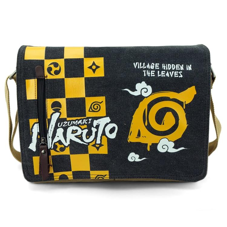 Anime Naruto Cosplay Anime around the birthday gift travel Messenger bag men and women shoulder bag