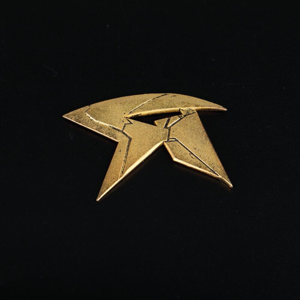 Cosplay 2018 TV Titans Batman Dart Dick Grayson Robin Nightwing Weapon Batdart Collection Gift Prop Halloween (13)