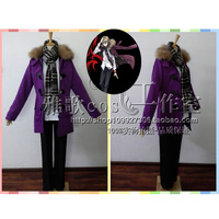 Anime K Project Return of Kings Cosplay Costume Tatara Totsuka Cosplay Uniform Clothes Unisex Thick Suit Coat+Shirt+Pants+Scarf