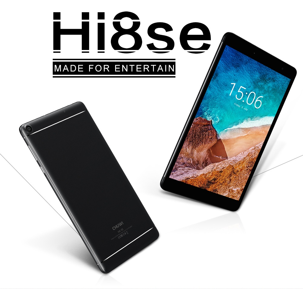 CHUWI Hi8 SE tablette PC Android 8.1 MTK8735 Quad Core 2 GB RAM 32 GB ROM double caméra double WIFI 2.4G/5G 8 pouces 1920*1200 tablettes - 2