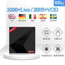 Arabic UK Swedish IPTV Subscription X88MAX 1 Year IUDTV IPTV Code Android TV Box Germany Turkish IPTV Spain Italy Greece IP TV