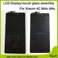 Высокое качество 5.0 дюймов ЖК-Экран Mi4C Новая Замена Аксессуары ЖК-Дисплей + Сенсорный Экран Для Xiaomi Mi4c Ми 4c Mi4c
