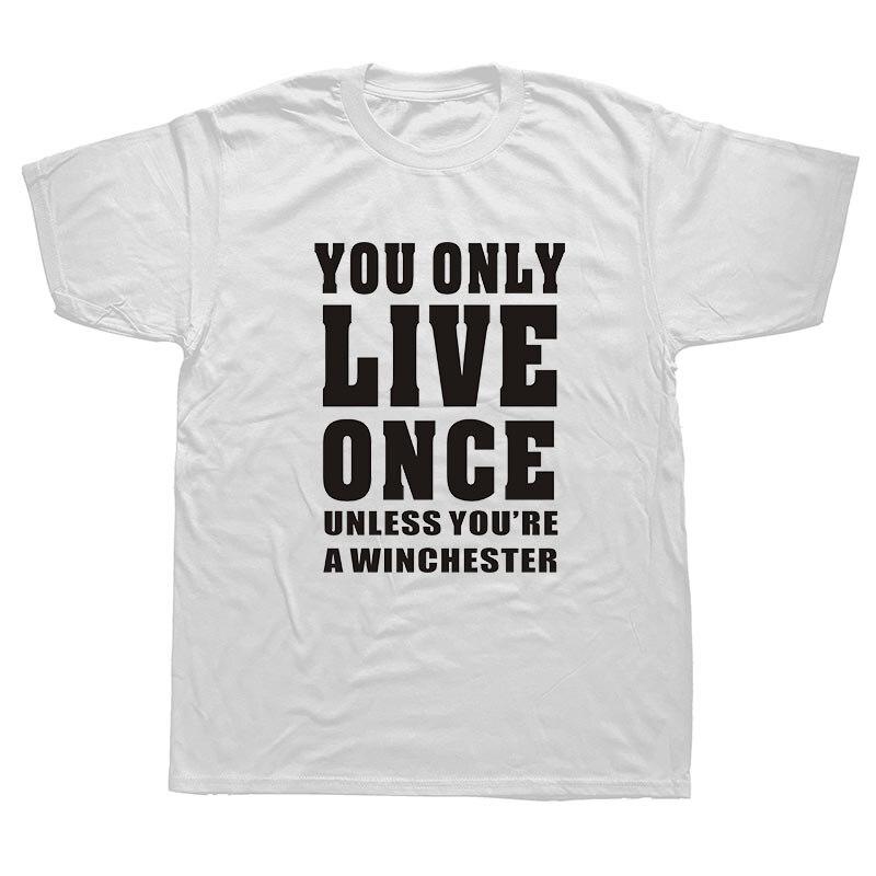 WEELSGAO CASTIEL jäger winchester brothers supernatural T shirt ...