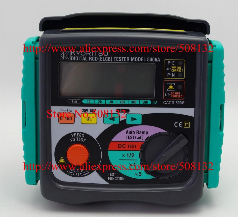 Kyoritsu 5402D RCD Digital ELCB Tester