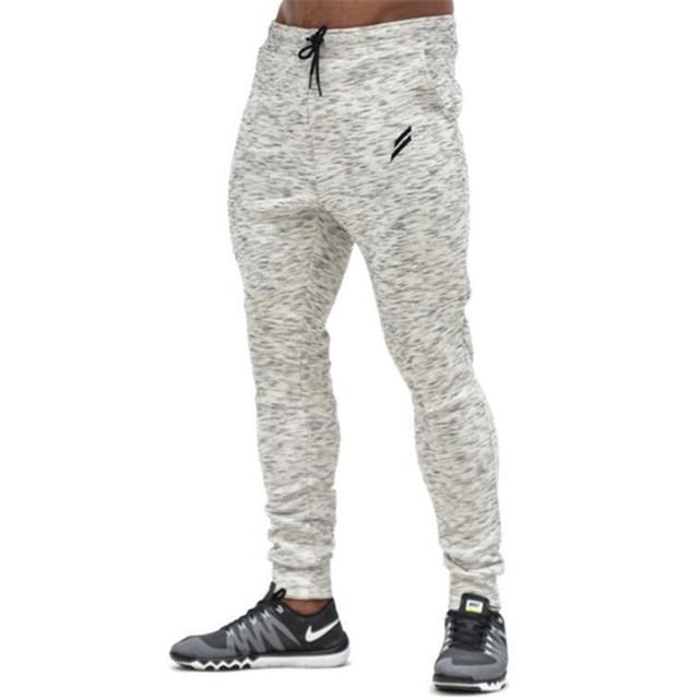 2017 Muscular irmãos qiu dong que calças calças dos homens cultivar a moralidade dos homens inverno nova tendência gymshark camuflagem M-2XL