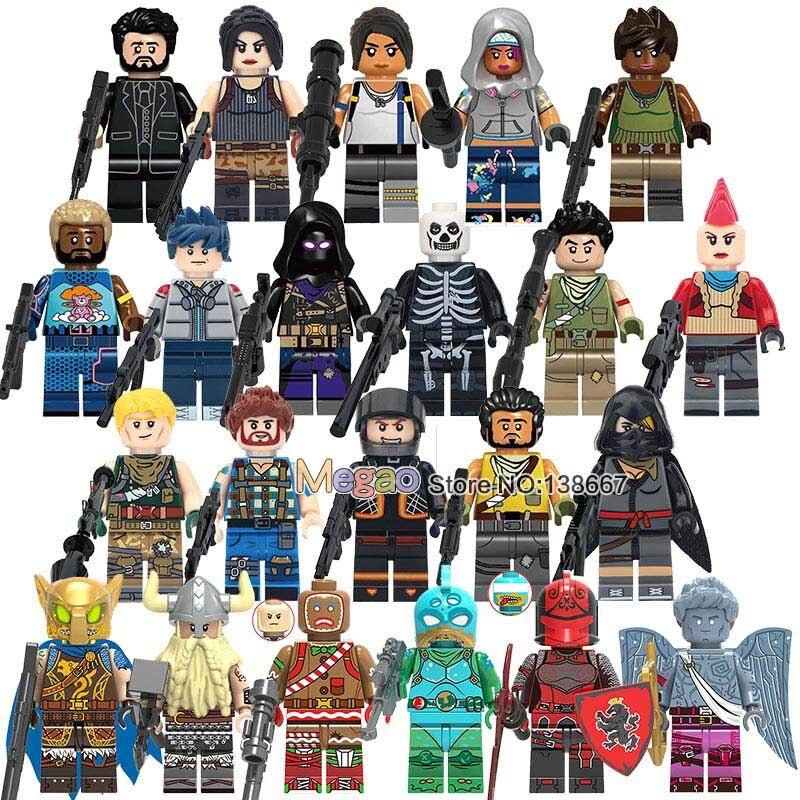 Single Sale Battle Royale Legoings Minifigures Battle Hound
