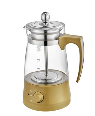Electric kettle Brew tea ware black pu er glass electric thermal insulation steam Overheat Protection