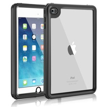 IP68 Waterproof Case For iPad mini 4 Shockproof Dustproof Anti-scratch Cover Skin Black стоимость