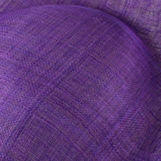 Элегантные шляпки из соломки синамей с вуалеткой хорошие Свадебные шляпы высокого качества женские коктейльные шляпы очень красивые несколько цветов MSF104 - Цвет: Фиолетовый